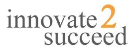 Graphic of Innovate 2 Succeed Logo